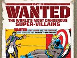 DC's Wanted: The World's Most Dangerous Supervillains (Collected)
