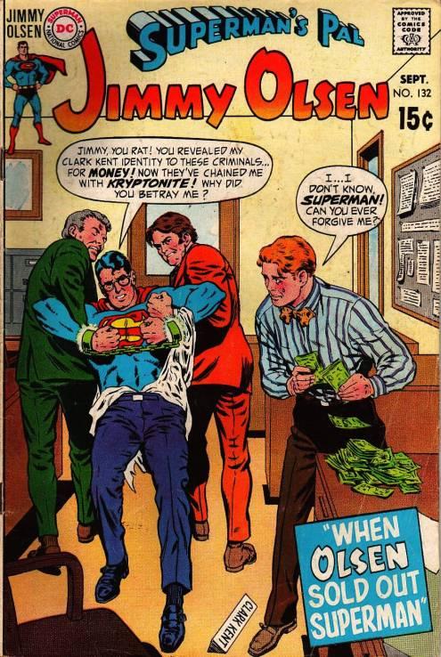 Resultado de imagen de superman jimmy olsen 132
