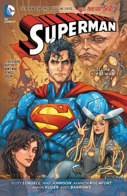 Cover for the Superman: Psi-War Trade Paperback