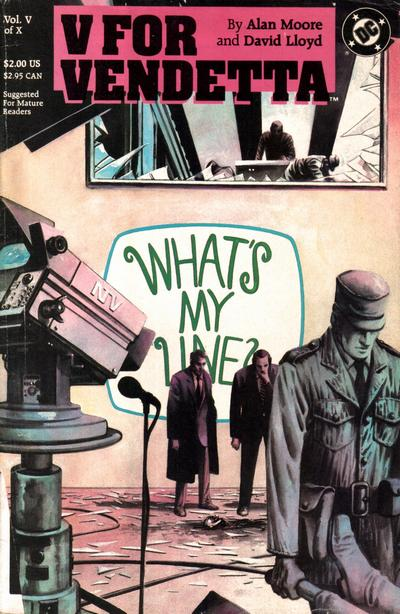 marvel comics v for vendetta