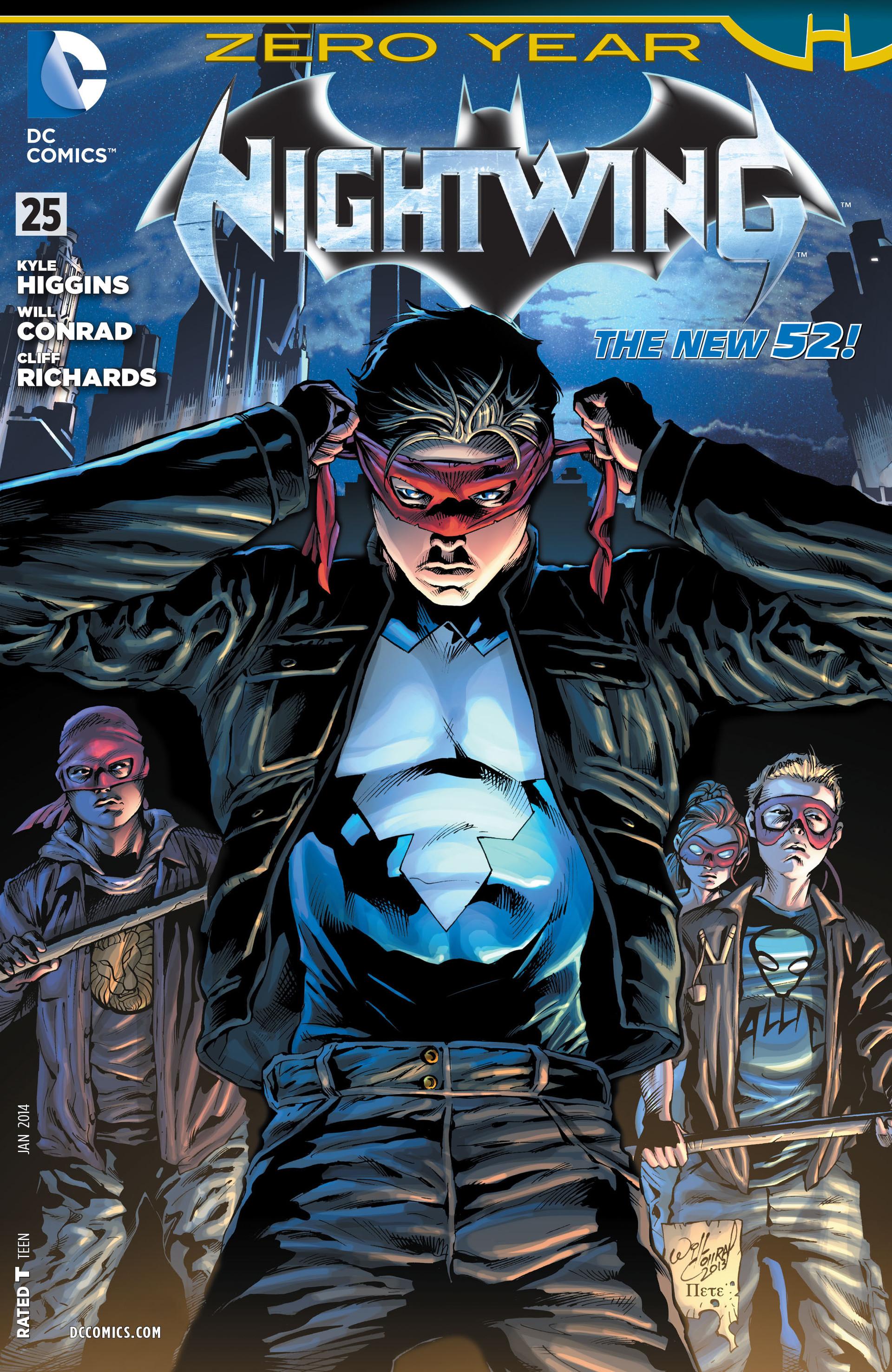 Nightwing Vol 3 25 Dc Database Fandom Powered By Wikia