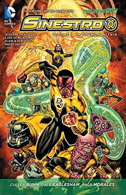 Cover for the Sinestro: The Demon Within Trade Paperback