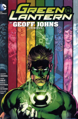 Cover for the Green Lantern by Geoff Johns Omnibus Vol. 2 Trade Paperback