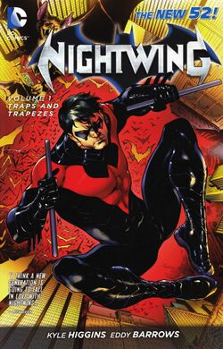 Cover for the Nightwing: Traps and Trapezes Trade Paperback