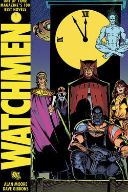 Cover for the Watchmen Trade Paperback