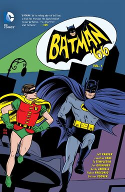 Cover for the Batman '66 Vol. 1 Trade Paperback