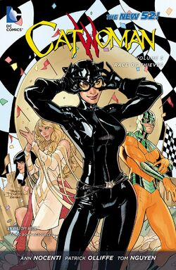 Cover for the Catwoman: Race of Thieves Trade Paperback