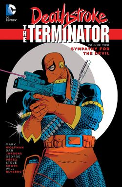Cover for the Deathstroke the Terminator: Sympathy for the Devil Trade Paperback