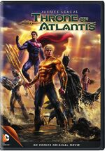 Justice League Throne of Atlantis Cover
