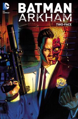 Cover for the Batman Arkham: Two-Face Trade Paperback