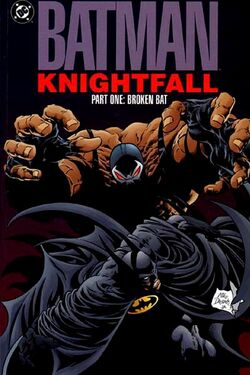 Batman Knightfall Broken Bat 2002 Edition