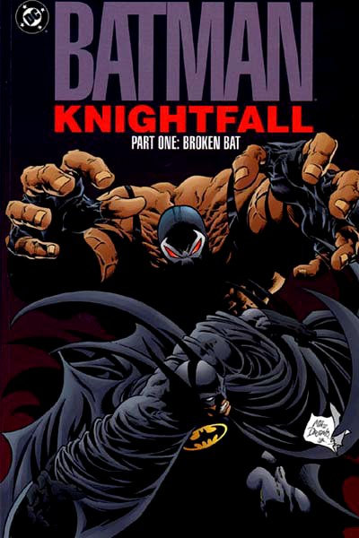 Image result for batman knightfall