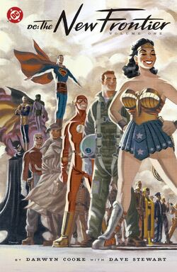 Cover for the DC: The New Frontier Vol. 1 Trade Paperback