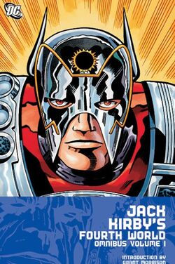 Cover for the Jack Kirby's Fourth World Omnibus Vol. 1 Trade Paperback