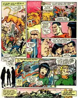 Lois lane confused meeting kal l for 1st time