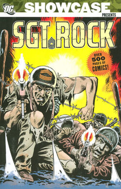Cover for the Showcase Presents: Sgt. Rock Vol. 1 Trade Paperback