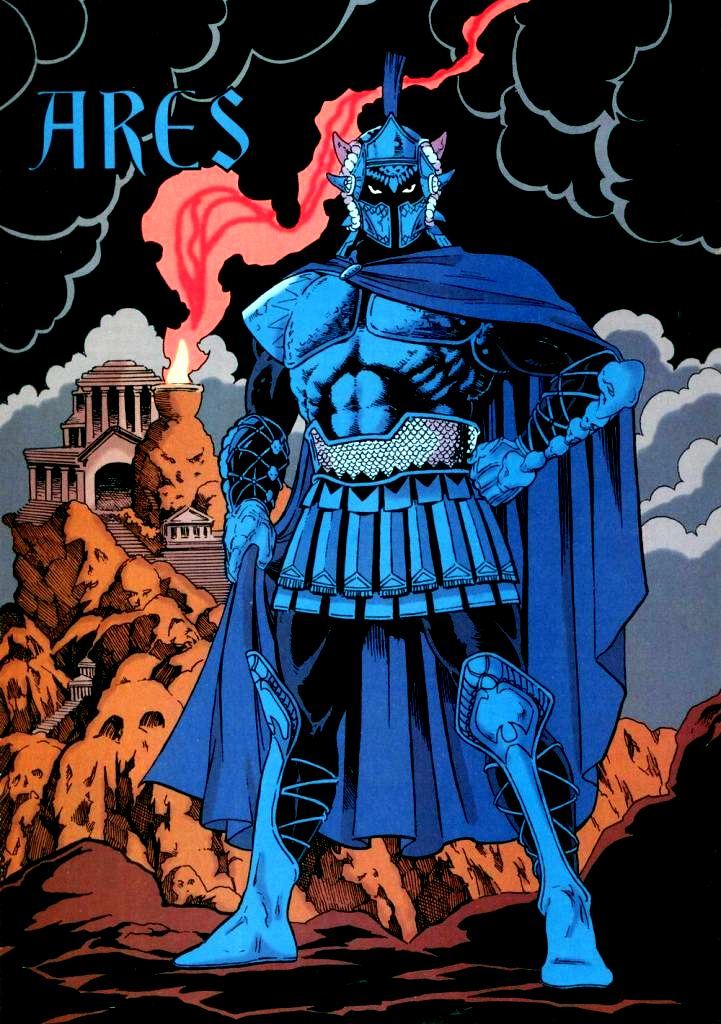 Ares New Earth Dc Database Fandom Powered By Wikia