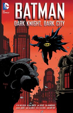 Cover for the Batman: Dark Knight, Dark City Trade Paperback