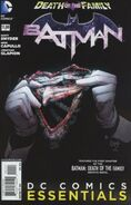 DC Comics Essentials Batman Death of the Family Vol 1 1