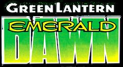 Green Lantern Emerald Dawn (1989-1990) logo