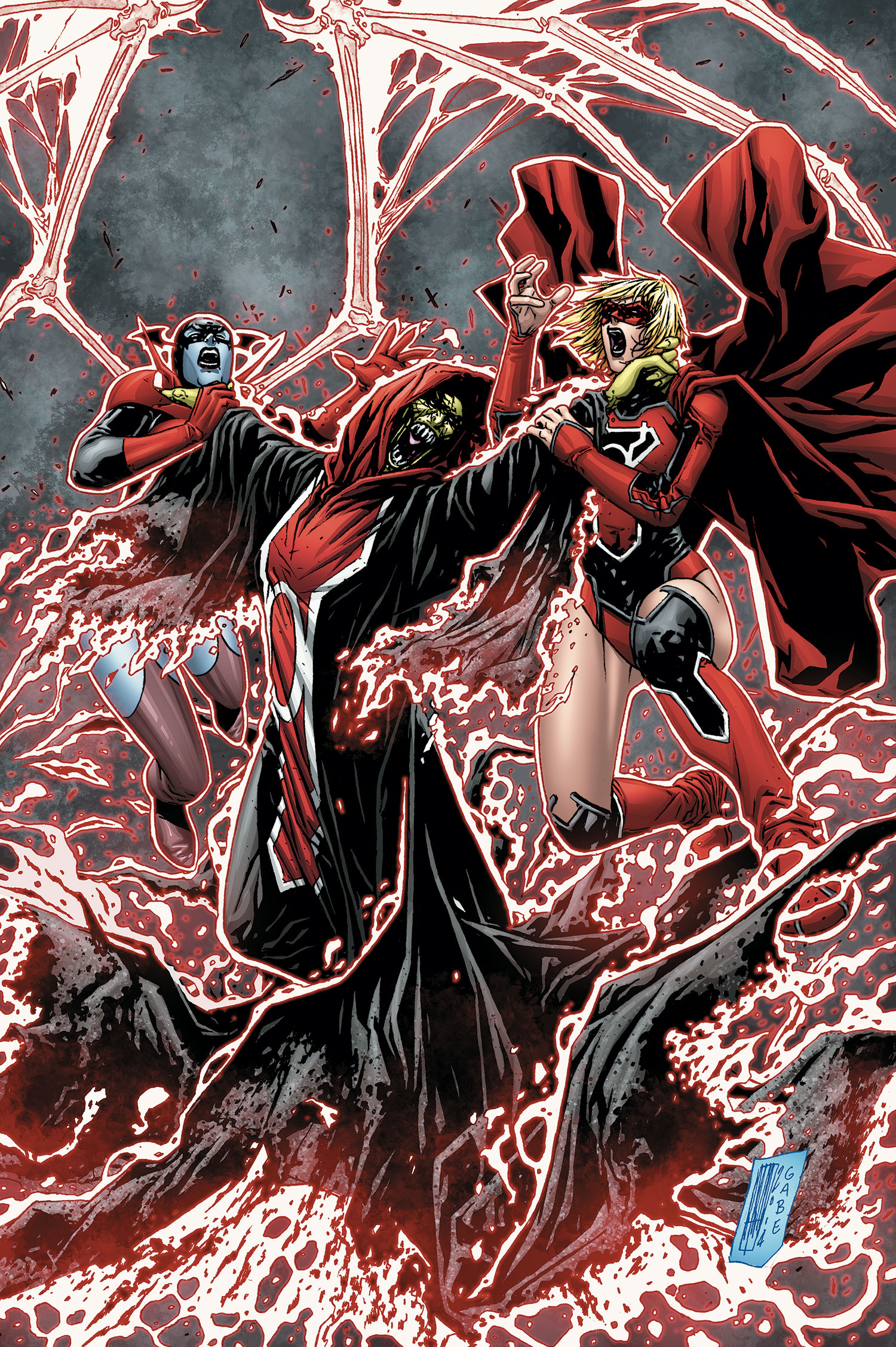 Red Lanterns Vol 1 31 Textless