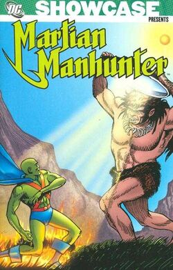 Cover for the Showcase Presents: Martian Manhunter Vol 2 Trade Paperback