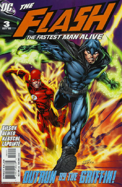 The Flash The Fastest Man Alive Vol 1 3 Dc Database