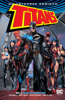 Cover for the Titans: Made in Manhattan Trade Paperback