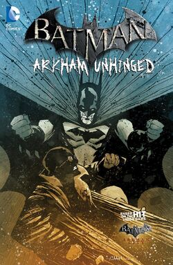 Cover for the Batman: Arkham Unhinged Vol. 4 Trade Paperback