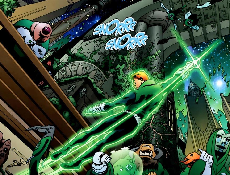 DC Comics The Green Lantern Logo Ring orzHJbI