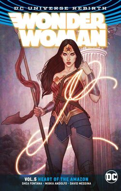 Cover for the Wonder Woman: Heart of the Amazon Trade Paperback