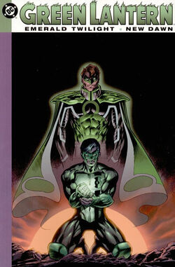 Cover for the Green Lantern: Emerald Twilight/New Dawn Trade Paperback