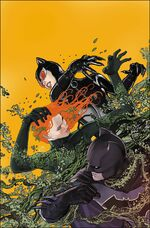 Ivy vs. Batman and Catwoman