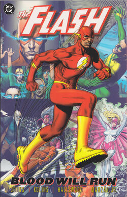 Cover for the The Flash: Blood Will Run Trade Paperback