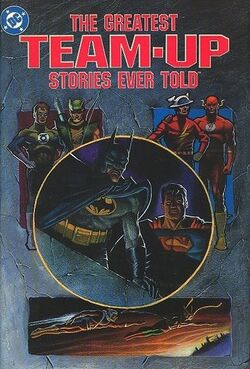 Cover for the The Greatest Team-Up Stories Ever Told Trade Paperback