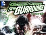 Green Lantern: New Guardians Annual Vol 1 2