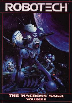 Cover for the Robotech: The Macross Saga Vol. 2 Trade Paperback