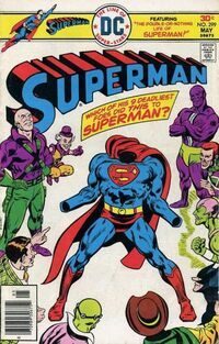 The ultimate battle-- Superman vs. 9 of his greatest enemies!