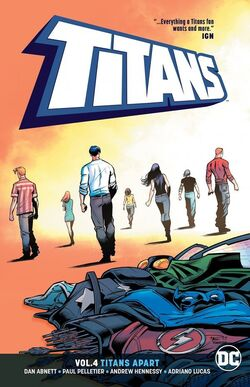 Cover for the Titans: Titans Apart Trade Paperback