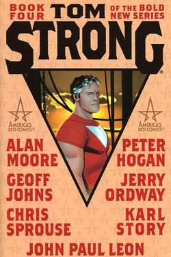 Cover for the Tom Strong: Book Four Trade Paperback