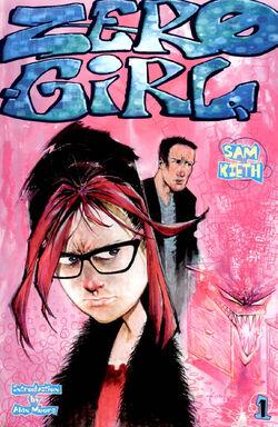 Cover for the Zero Girl Trade Paperback
