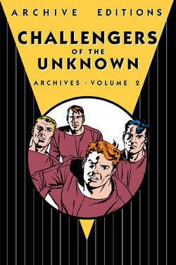 Cover for the Challengers of the Unknown Archives Vol. 2 Trade Paperback