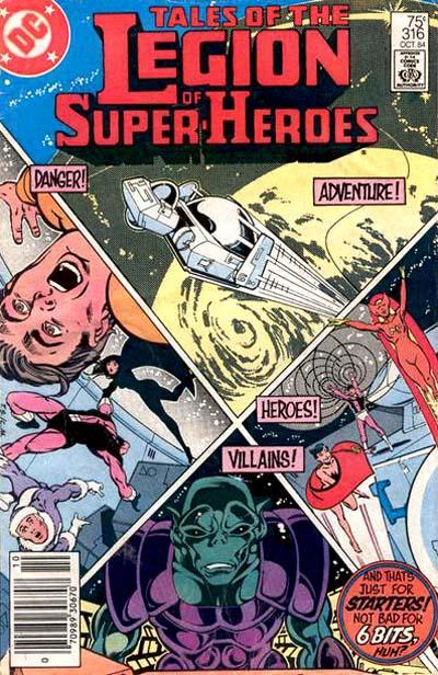 Legion of Super-Heroes Vol 2 316 | DC Database | FANDOM