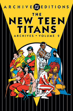 Cover for the New Teen Titans Archives Vol 2 Trade Paperback