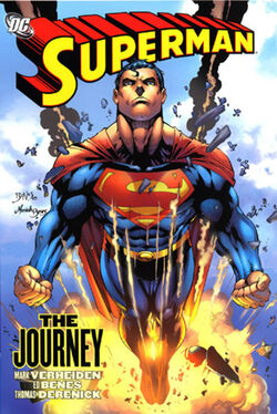 Cover for the Superman: The Journey Trade Paperback