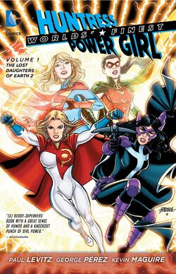 Cover for the Worlds' Finest: The Lost Daughters of Earth 2 Trade Paperback
