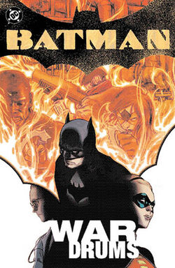 Cover for the Batman: War Drums Trade Paperback