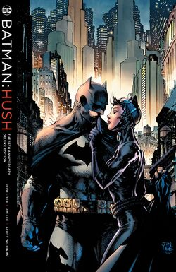 Cover for the Batman: Hush 15th Anniversary Deluxe Edition Trade Paperback