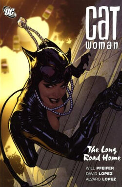 Cover for the Catwoman: The Long Road Home Trade Paperback