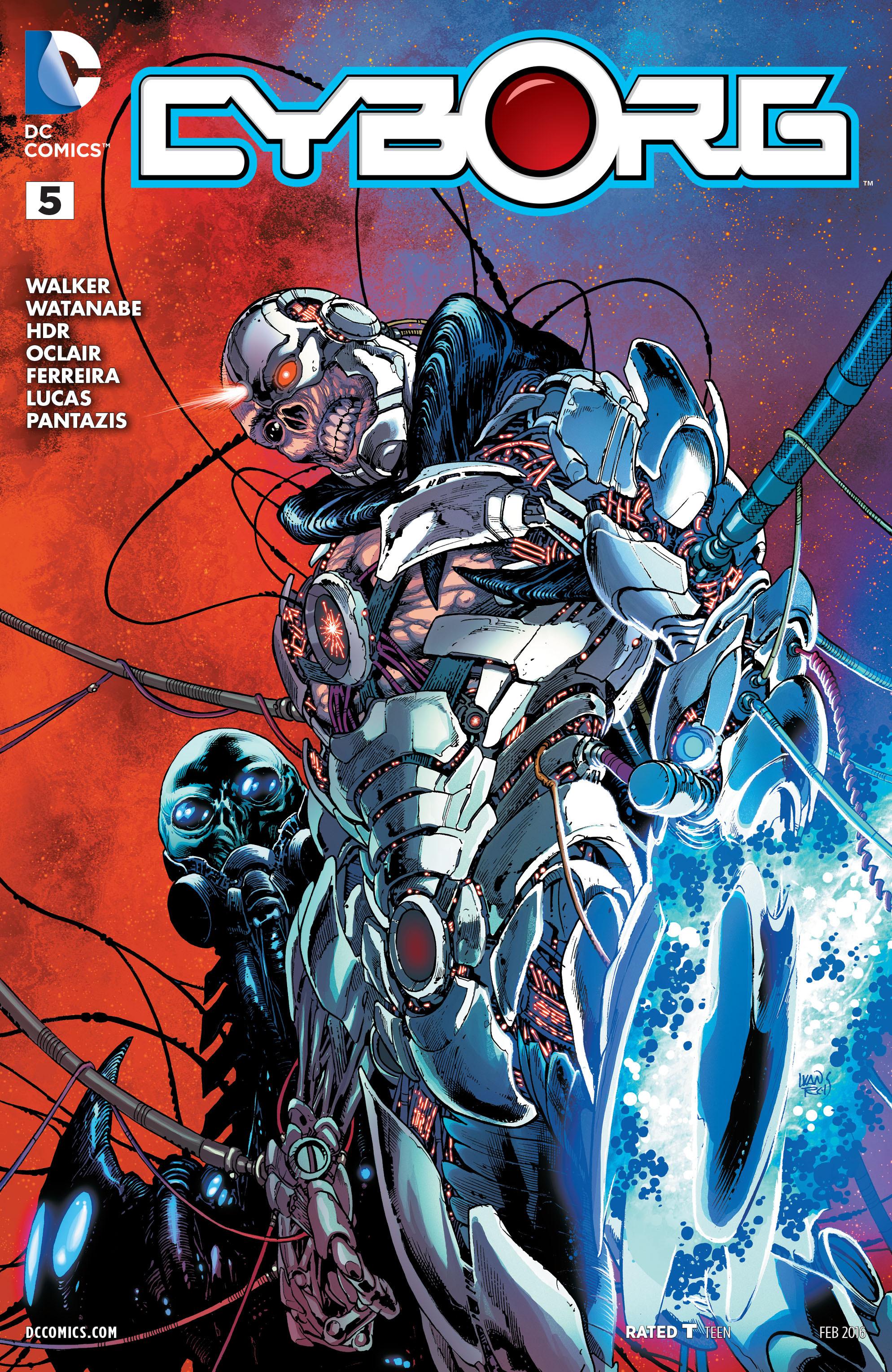 Cyborg Vol 1 5 Dc Database Fandom Powered By Wikia